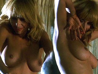 Rosanna Arquette Topless Striptease