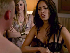 Megan Fox showing off her sexy lingerie