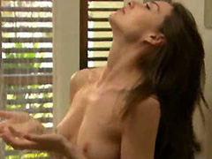 Claire Forlani topless under the shower