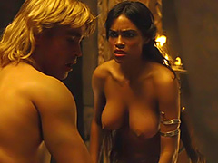 Rosario Dawson nude in hot sex action