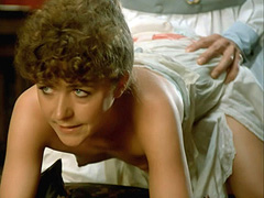 Anne Bennent topless hot sex from behind