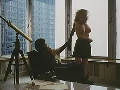 Jennifer Welles nude in the office