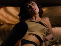 Olga Kurylenko gets naughty in bed