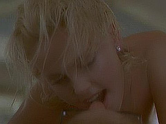 Charlize Theron in topless sex scene