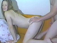 Ariadne Shaffer in home sex tape action