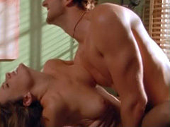 Kelli McCarty topless hard sex scene