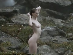 Alyssa Sutherland Nude Scene In Vikings Series