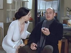 Monica Bellucci Sexy Boobs And Butt In Combien Tu Maimes Mov...