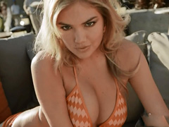 Kate Upton sexy in a bikini for some commercial