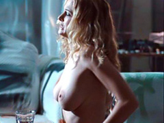 Heather Graham topless in hot lesbian scene