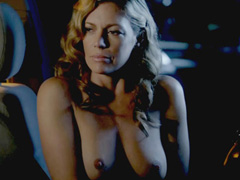 Leilani Sarelle topless does hot handjob