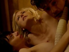 Malin Akerman And Kate Micucci Topless