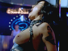 Jennifer Tilly topless dancing on stage
