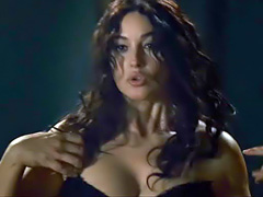Monica Bellucci topless in some hot sex scene