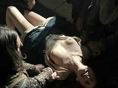 Annelise Hesme topless forced sex scene