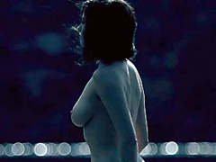 Eva Green strips down nude showing big tits