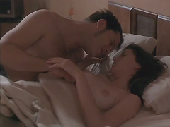 Mia Sara nude boobs in sex scenes