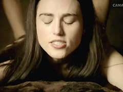Katie McGrath nude having hard sex with a guy