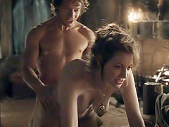 Esme Bianco nude in hot doggy style sex act