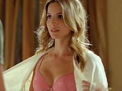 Annabelle Wallis in lingerie shows boobs and booty