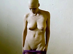 Sabine Timoteo nude shows boobs and bush
