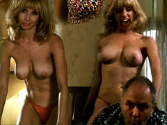 Rosanna Arquette topless does a sexy dance