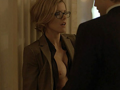 Kathleen robertson intensive sex from behind in boss series