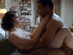 Janet Montgomery naked in hot love scene
