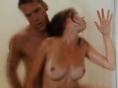 Carrie Fleming nude as she has wild sex