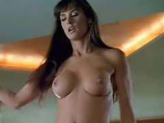 Demi Moore topless does hot private striptease