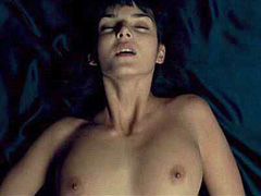 Clara Lago nude completely in hot sex act