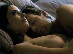 Eva Green topless making out with a guy