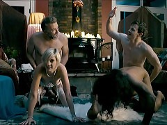Lauren Lee Smith Fucks From Behind In How To Plan An Orgy In...