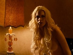 Lindsay Lohan And Alicia Rachel Marek Topless In Machete Mov...