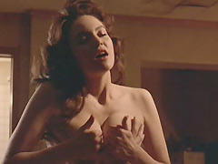 Diane Lane fully naked riding a guy