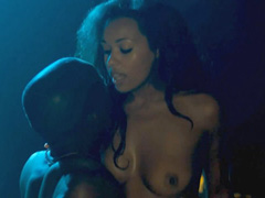 Melanie Liburd naked riding a guy hard