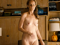 Helen Hunt nude completely shows tits and bush