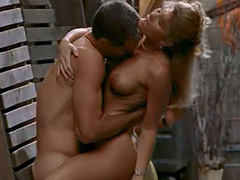 Brande Roderick had nude sex in an alley