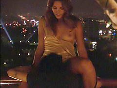 Kate French nude has naughty lesbian sex