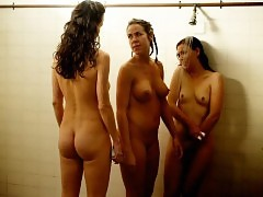 Ana Alexander, Heidi James And Kit Willesee Nude Lesbo Scene...