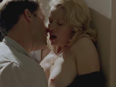 Melanie Thierry topless during some sex scene