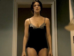 Ashley Greene booty in skimpy black panties