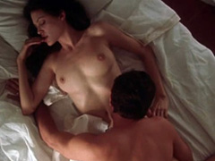 Angelina Jolie nude in a steamy sex scene