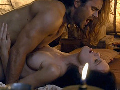Gwendoline Taylor nude during love scene