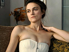 Keira Knightley topless getting spanked