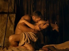 Katrina Law Nude Sex Scene In Spartacus Series