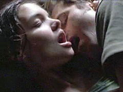 Katie Holmes sexy in a make out scene