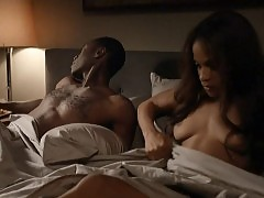 Megalyn Echikunwoke Nude Boobs In House Of Lies Series