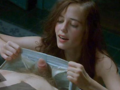 Eva Green fully naked gives blowjob