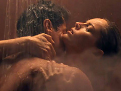 Sharon Stone nude sex scene in a shower